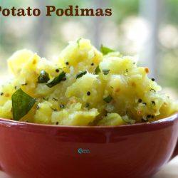 Potato Podimas | உருளைக்கிழங்கு பொடிமாஸ்