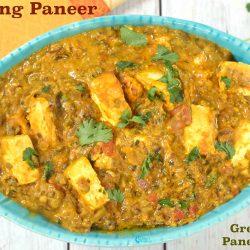Moong Paneer | Green Moong Paneer Curry