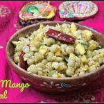 Peas Mango Sundal (Pattani Sundal)