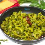 Pudalangai Poriyal | Snake Gourd Poriyal