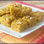 Carrot Coconut Burfi Recipe