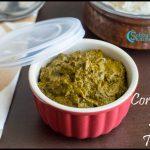 Coriander Leaves Thokku Recipe | Kothamalli Thokku Recipe