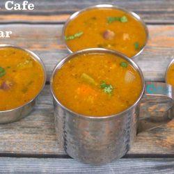 Ratna Cafe Style Sambar | Sambar for Idli, Dosa