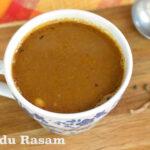 Poondu Thippili Rasam | (Garlic Thippili Rasam)