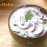 Onion Raita | Side dish for Biriyani, Pulao | Vengaya Thayir Pachadi