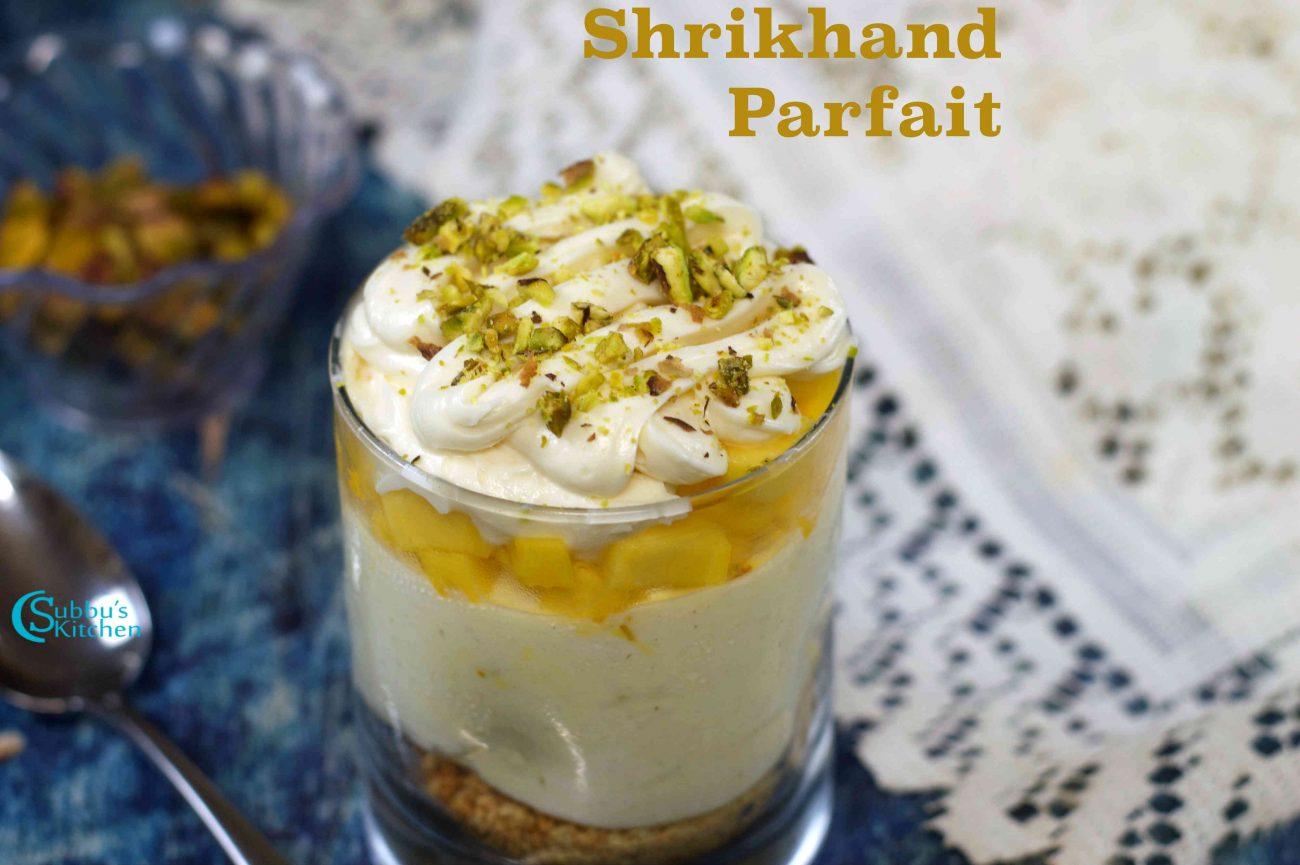 Shrikhand Parfait