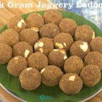 Black Gram Jaggery Ladoo | Karupu Ulundhu Laddu