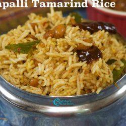 Madapalli Puliyodharai | Temple Style Tamarind Rice