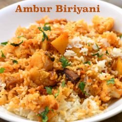 Ambur Vegetable Biryani Recipe