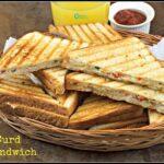 Veg Curd Sandwich Recipe | Curd Sandwich Recipe