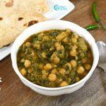 Palak Chole Recipe | Spinach Chickpea Curry