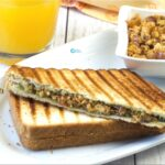 Paneer Bhurji Sandwich Recipe | Kids Lunch Box Recipes