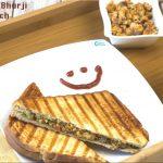 Paneer Bhurji Sandwich | Kids Lunch Box Recipe