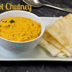 Carrot Chutney Recipe | Carrot Chutney for Idli,Dosa