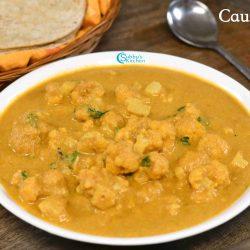 Saravana Bhavan Cauliflower Chops Recipe | Cauliflower Kurma Recipe