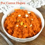 Instant Pot Carrot Halwa Recipe