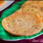 Chakkara Poli Recipe | Poli with dal and Sugar Filling