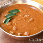 Ulli Theeyal Recipe | Baby Onion in Roasted Coconut spiced gravy