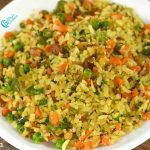 Vegetable Aval Upma | Vegetable Poha Recipe