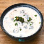 Bhindi Raita Recipe | Okra Raita Recipe | Vendakkai Raita