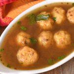 Paruppu Urundai Rasam | Dal Dumplings Rasam Recipe