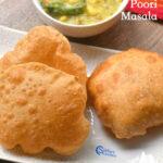 Poori with Masala Recipe