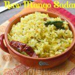 Raw Mango Rice | Mangai Sadam Recipe