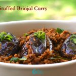 Brinjal Stuffed Curry | Stuffed Brinjal Fry Recipe
