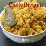 Chole Biryani Recipe | Chickpea Biryani | Chana Biryani Recipe