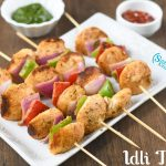 Idli Tikka Recipe | Kid's Friendly Snack with Left over Idli