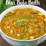 Bisi Bele Bath Recipe | Karnataka Style Bisibelebath