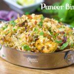 Paneer Dum Biryani Recipe | Paneer Biryani Recipe