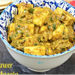 Spicy Paneer Coconut Pepper Curry Recipe