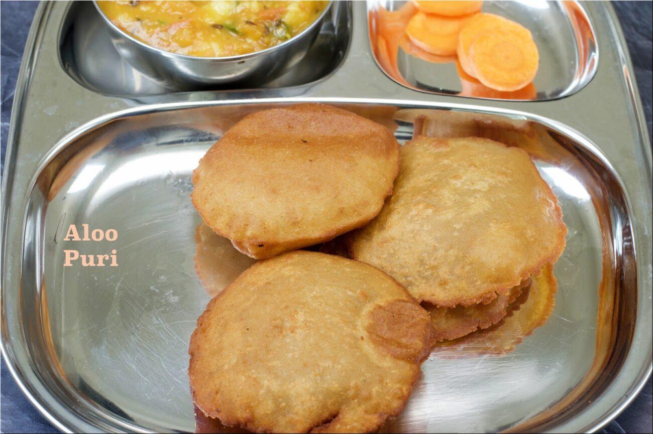 Aloo ki Puri | Potato Poori Recipe | Aloo Poori