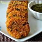 Oats Moongdal Tikki Recipe | Healthy Oats Moong Dal Cutlet