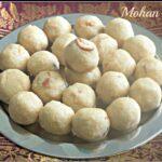 Mohan Laadoo Recipe | Mohan Ladoo Recipe