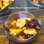 Kalyana Sweet Pachadi | Mixed Fruits Sweet Pachadi