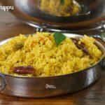 Arisi Paruppu Sadam Recipe | Kongunadu Style Arisi Paruppu Sadam